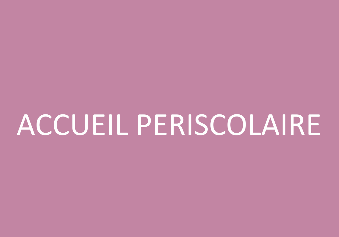 Accueil Périscolaire