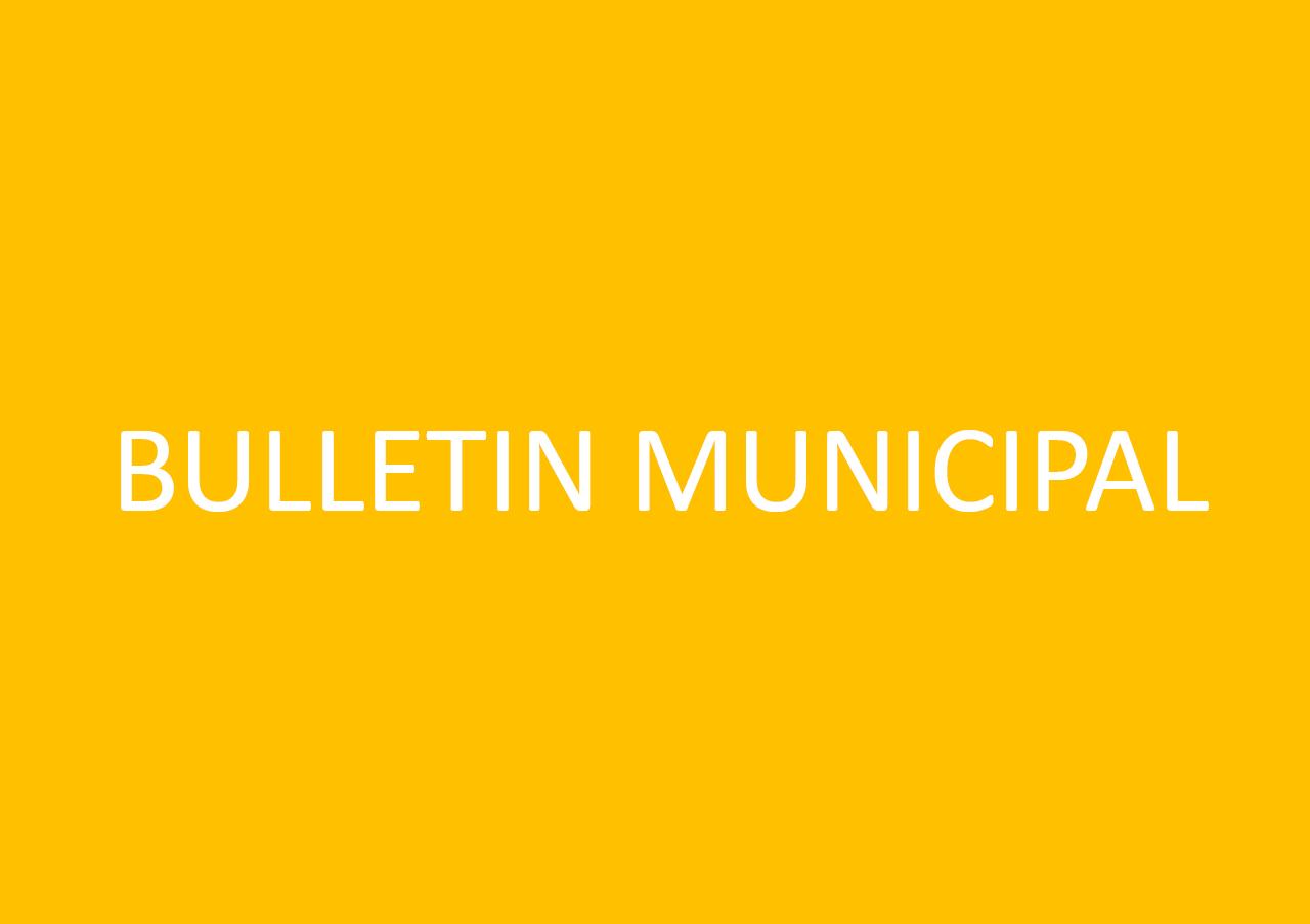 "Bulletin Municipal ""L'écho de Rochecline"""